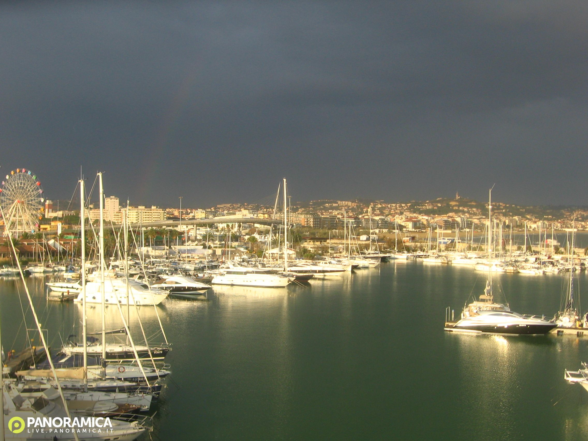 Pescara Camera Live : Webcam pescara pe pescara centro zona parco sabucchi meteo