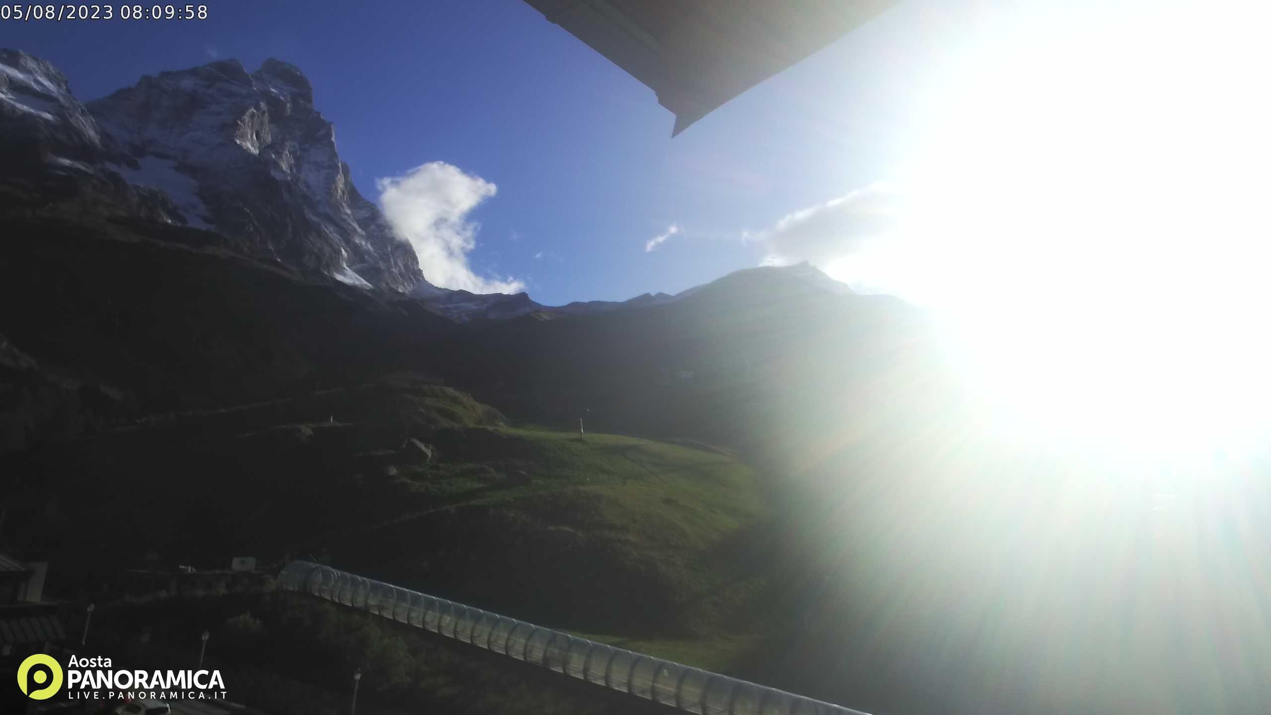 Webcam Cervinia ospitata da Agenzia Fotografica Aosta Panoramica
