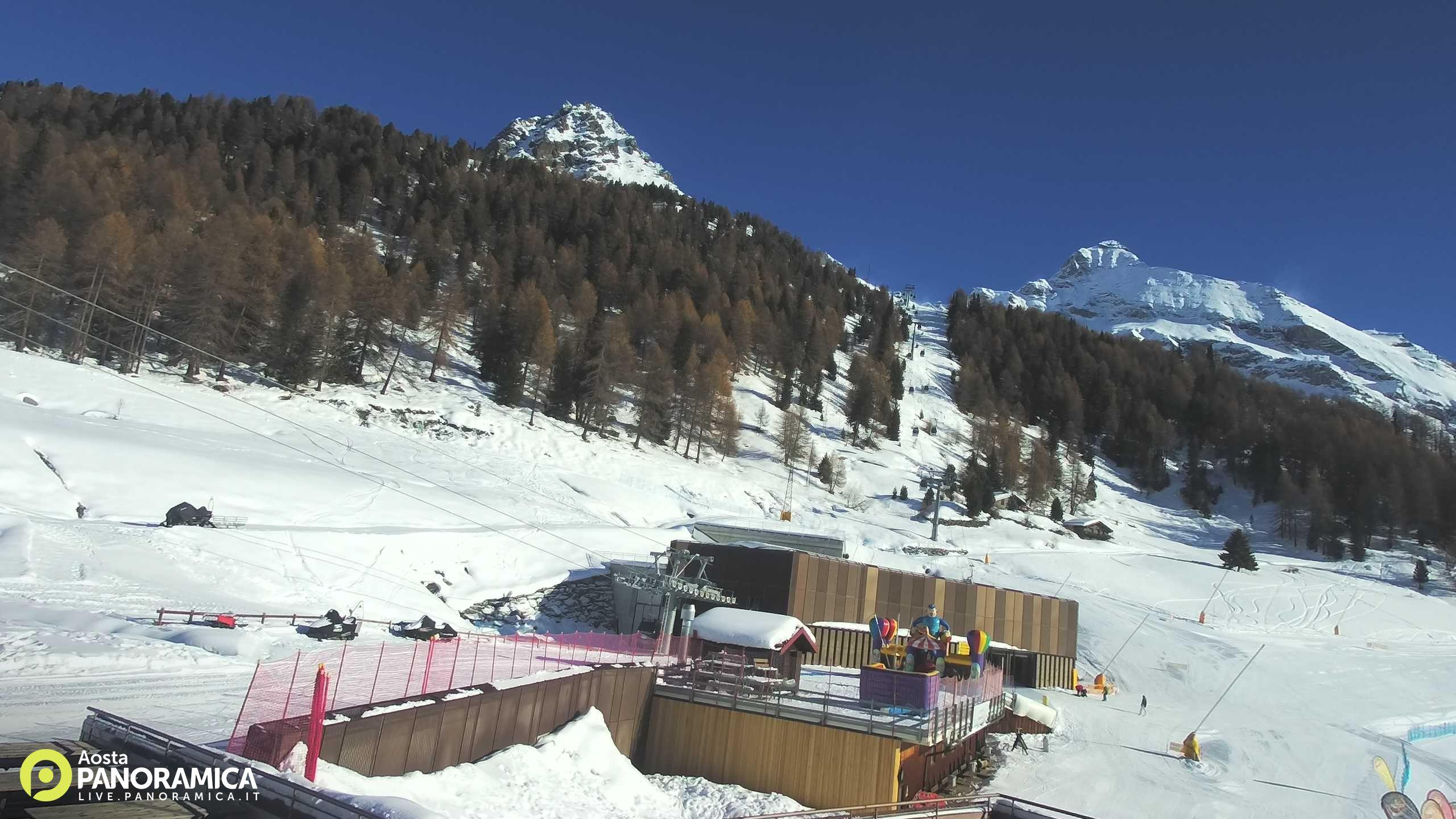 Webcam Crest - Champoluc - Monterosa Ski,